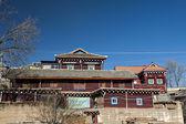 Tibetan residence — Stock Photo
