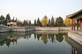 The chinese ancient times royal garden — Stok fotoğraf