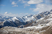 Snow mountain landscape — Foto Stock