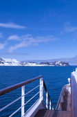Antarctic landscape — Stock Photo