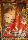 Religion painting — Stock Photo