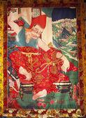 宗教绘画 — 图库照片