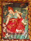 Din boyama — Stok fotoğraf