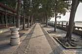Chinese ancient times royal garden — Stock Photo