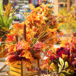 Fall Centerpiece — Stock Photo
