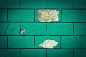 Green wall — Stock Photo