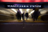 Pennsylvania station nyc — Stockfoto
