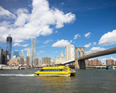 NYC Waterway — Stock Photo