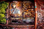 Brooklyn NYC Graffiti — Stock Photo