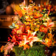 Autumn Centerpiece — Stock Photo