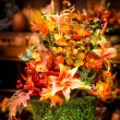 Royalty-Free Stock Photo: Autumn Centerpiece