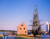 Salem MA Waterfront — Stock Photo