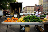 Produce Sale NYC — Stock Photo