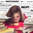 Stressed Teenager with Books — Stock Photo