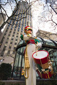 Toy Soldier Rockefeller Center — Stock Photo