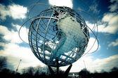 Earth Unisphere Monument — Stock Photo