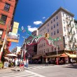 Stock Photo: Little Italy New York City