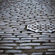 Stock Photo: Cobblestone Street