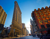 Bâtiment de flatiron nyc — Photo