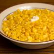 Bowl of Corn — Stock Photo