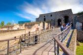 Ruinas de Pompeya Italia — Foto de Stock
