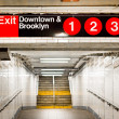 New York City Subway Station — Foto Stock