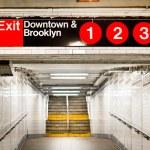 New York City Subway Station — Stock Photo #19742075