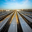 train yard — Stock Photo