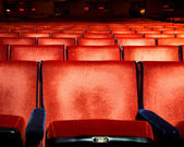 Theater Seating — Stock Photo