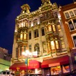 Stock Photo: SDiego Gaslamp Quarter
