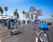 Muscle Beach CA — Stock Photo