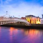 Dublin Quay at Dusk — Stock Photo #23367982