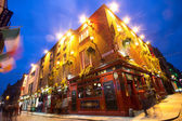 Temple Bar District Dublin Ireland — Stock Photo