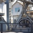 Mystic River Bascule Bridge — Stock Photo