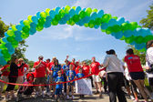 American Liver Foundation Walk — Stock Photo