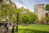 Union Square Park NYC — Stock Photo