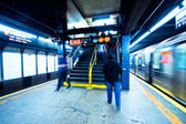 New York City Subway — Stock Photo