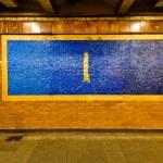 New York City Subway Station Wall — Stock Photo #24929647