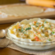 Cooking Chicken Pot Pie — Stock Photo