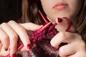 Knitting — Photo