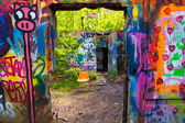 Abandoned Estate — Stock Photo