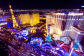Vegas at Night — Stock Photo