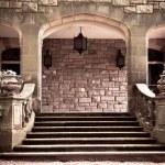 Vintage Stone Portico — Stock Photo #26481963