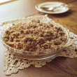 Apple Crisp Pie — Stock Photo