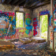 Stock Photo: Abandoned Graffiti