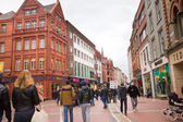 Grafton Street Ireland — Stock Photo
