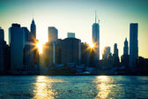 Downtown NYC — Foto Stock