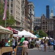 Stock Photo: Greenmarket Farmers Market New York City