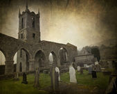 Irish Abbey — Stock Photo