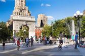 NYC Washington Square Park — Stock Photo